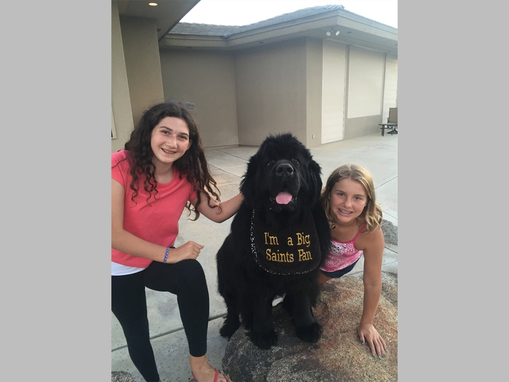 My Neighbor Bella and friend in California. What cute girls!